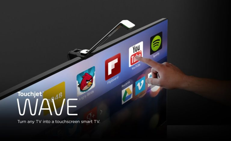 Now Turn your Old TV into a Touch Screen Smart TV – TouchJet Wave