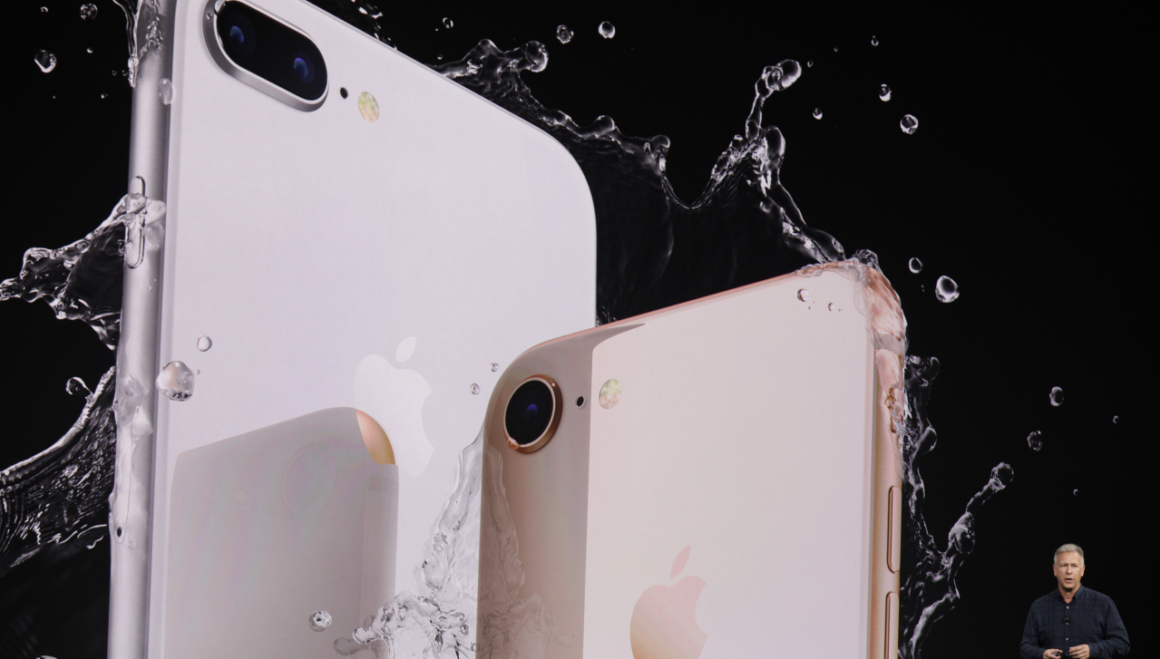 Apple IPhone 8 And Plus With A11 Bionic Chip Glass Back