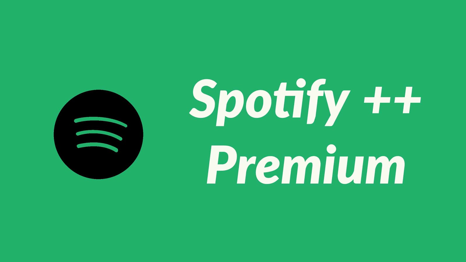 spotify++ premium on ios 12