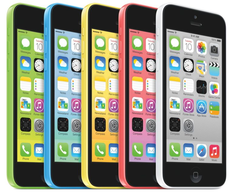 Why are there no longer color iPhones?