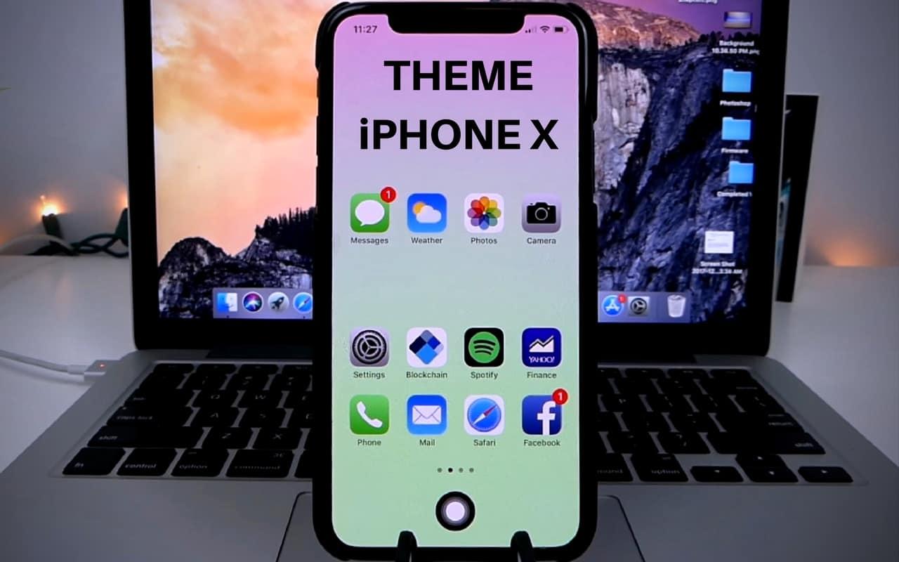 Скачать тему айфон 6 на пк