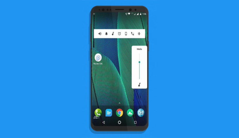 How to Get Android P Volume Slider on Any Android