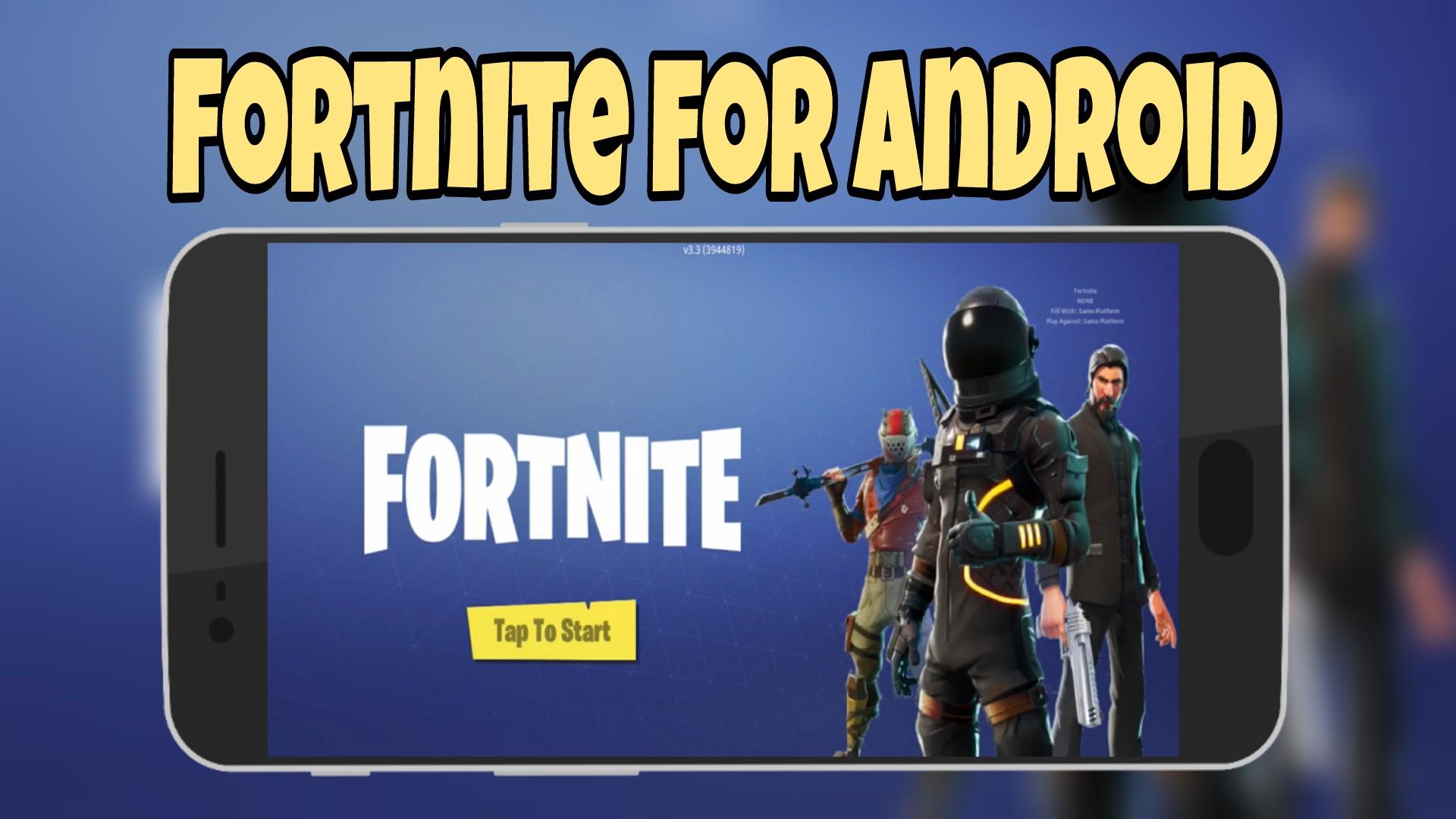 fortnite android beta installer apk