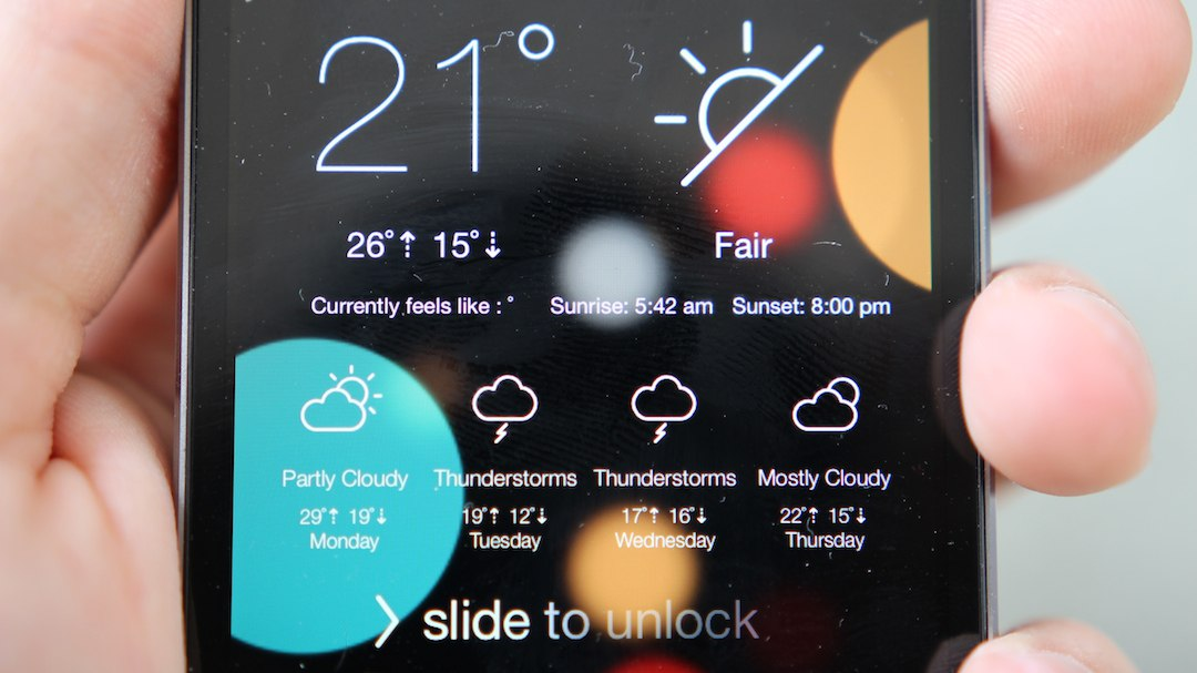 How To Unlock The Hidden Weather Lock Screen Widget in iOS 12