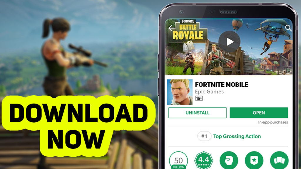 Download Fortnite Mobile