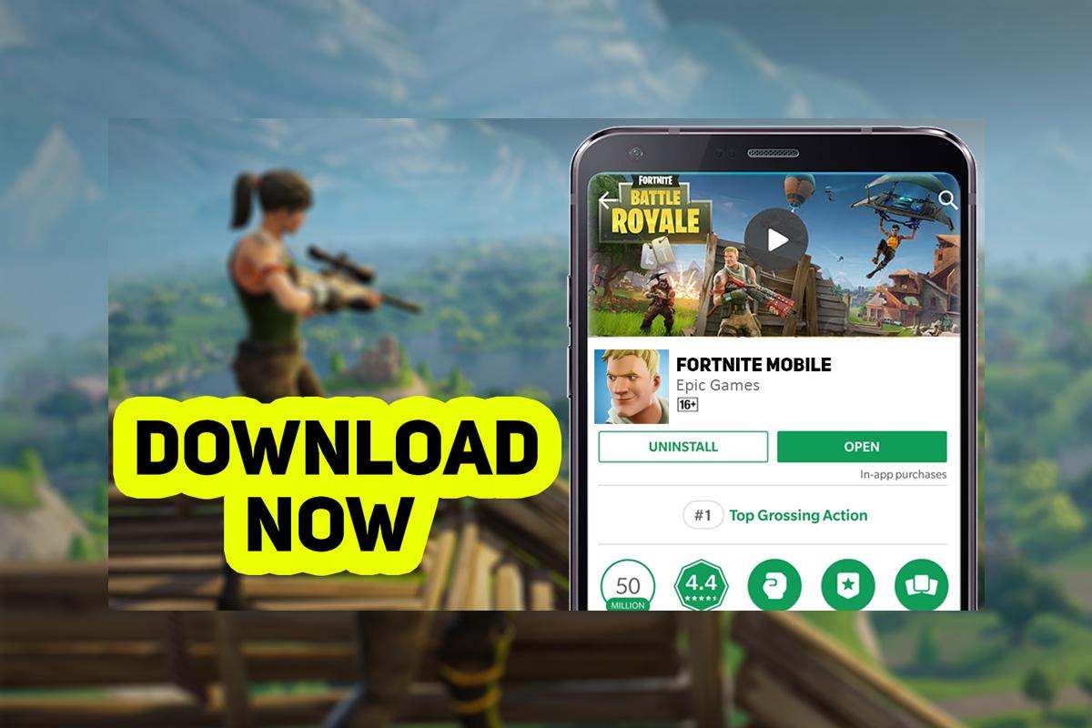Fortnite For Mobile