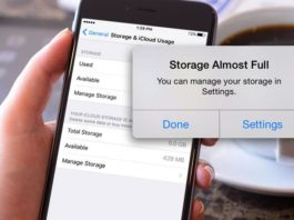 tricks to free space on iPhone