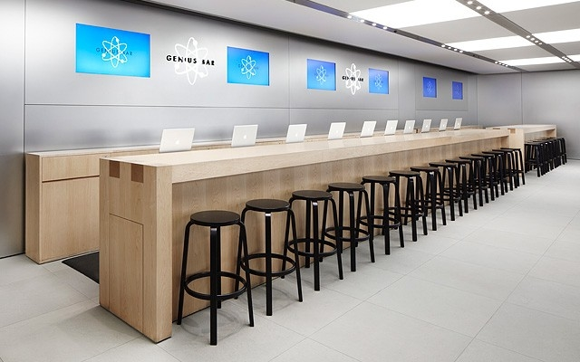 set up a genius bar appointment
