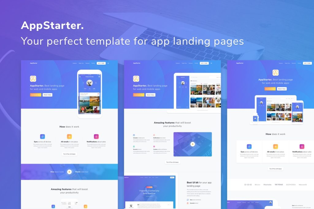 15 High Quality Free Website Templates to Download