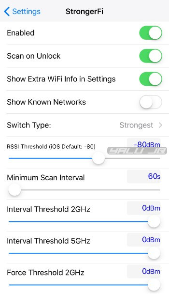 Download and Install StrongFi to the strongest WiFi signal: