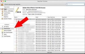 Recover Your Forget WiFi password on MAC