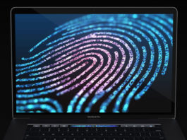 remove a fingerprint from macbook