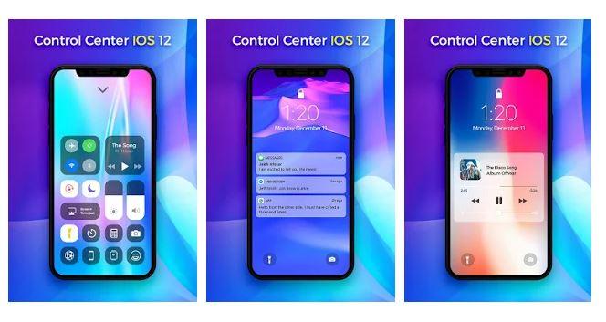 iOS 12 Control Center