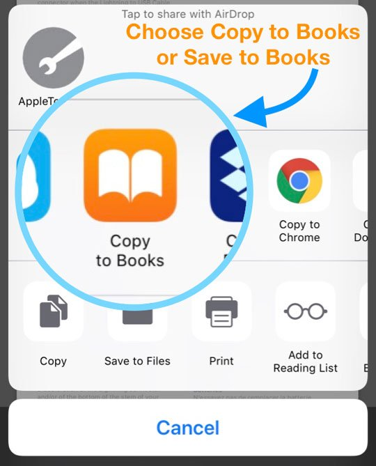 Fix Apple Books or iBooks Stuck Problems on iOS: