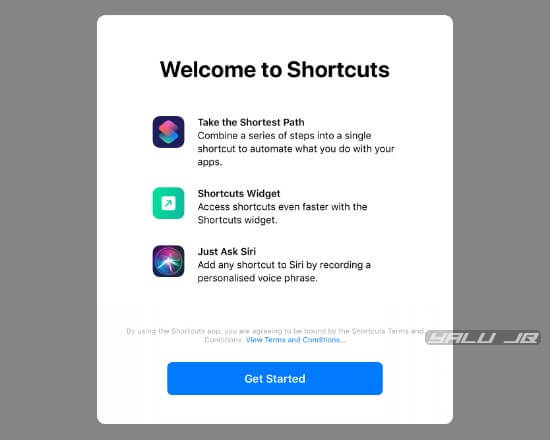 Download and Install Shortcut apps on iOS 12: