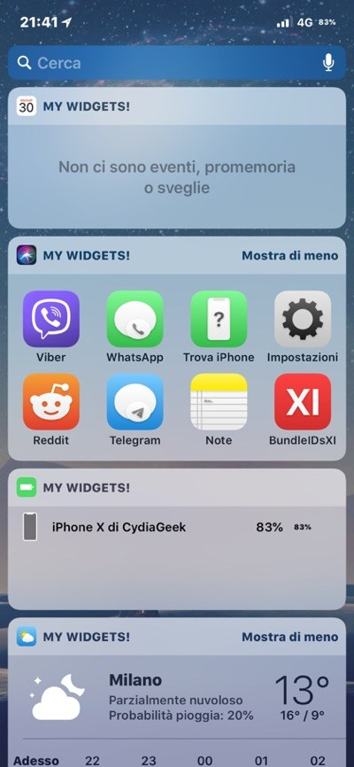 Download and Install BatteryColor, SCRemoveAds, Cornucopia: