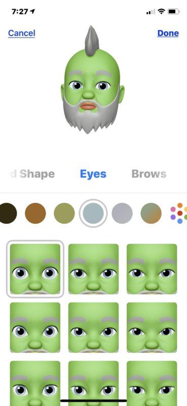 Make a Memoji on iPhone 2019
