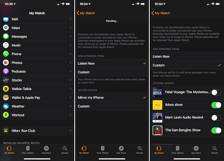 Fix Apple Watch Music or Podcasts Not Working: