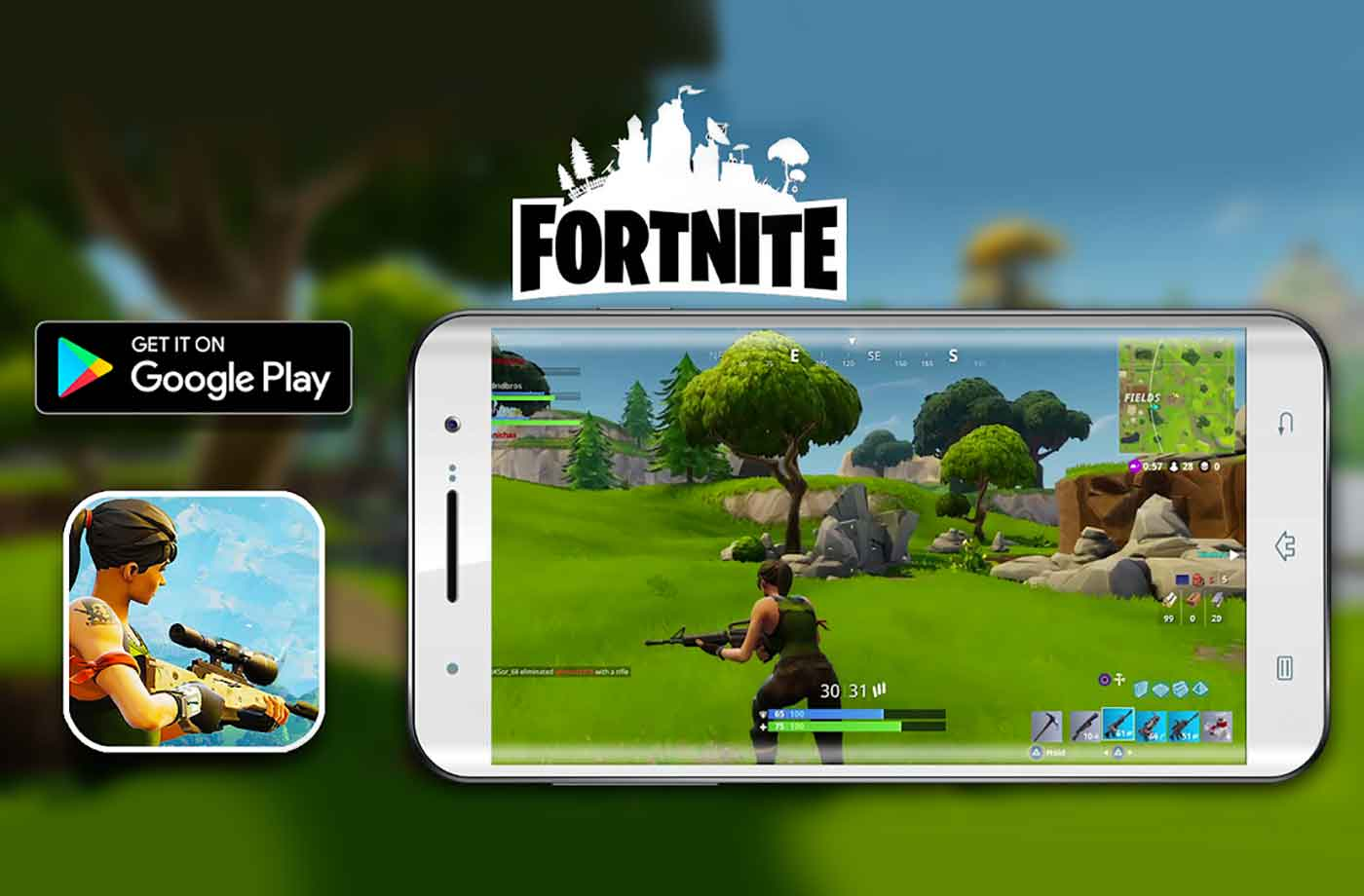 - best android phone for fortnite