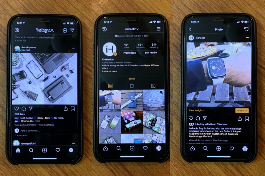 Get A Dark Mode In Instagram For iPhone 2019: