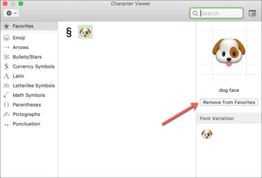 Use Favorite Emojis & Symbols in Mail on Mac 2019