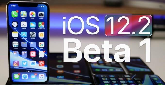 Download iOS 12.2 Developer Beta 1 without developer account: