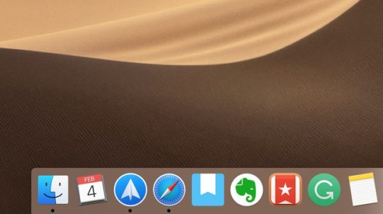 Customize Your Dock in macOS 2019: