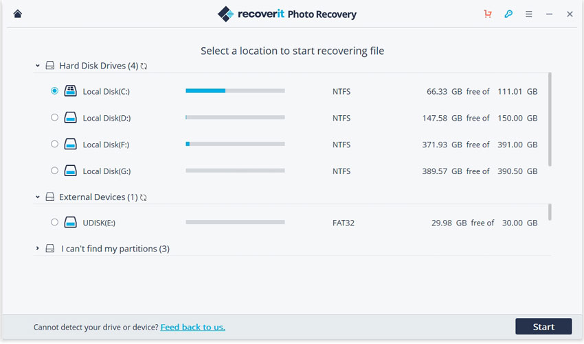 recoverit mp3 video recovery software