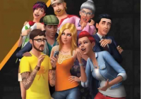Screenshot of The sims 4