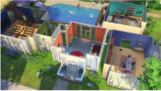 Screenshot of The Sims4