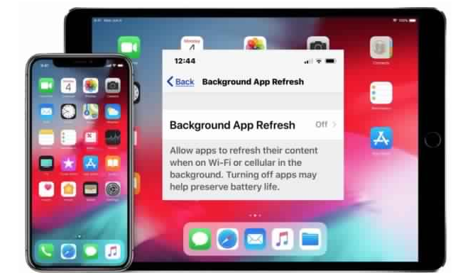 Disable background App refresh