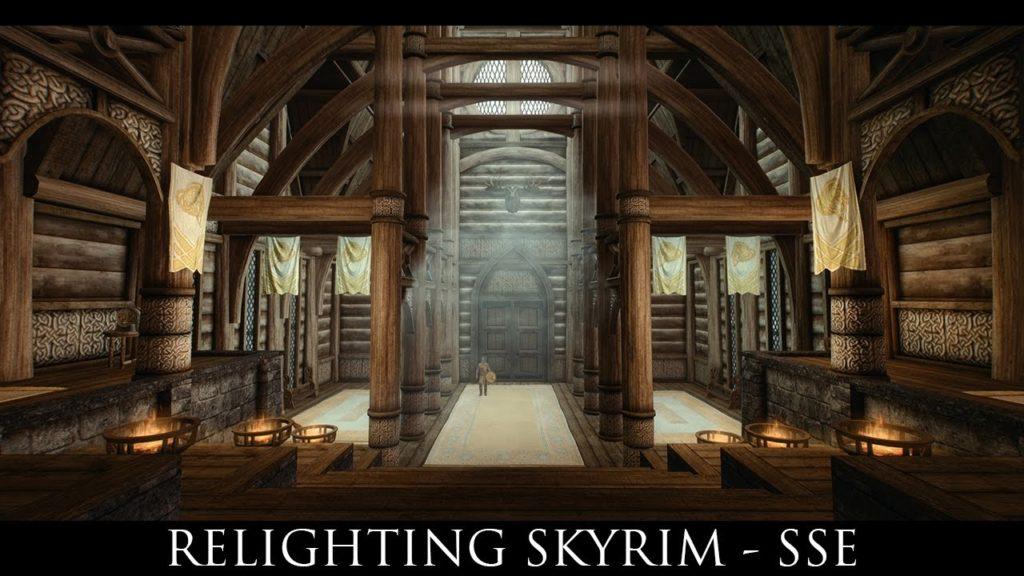 Relighting Skyrim