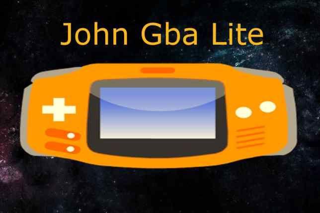 John GBA Lite Emulator
