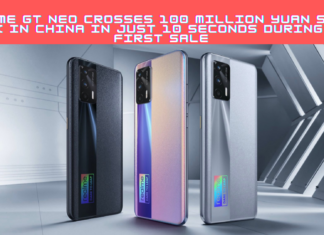 Realme GT Neo Crossed 100 Million Yuan Mark Sales For The First Time In Just 10 Seconds