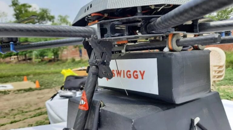 Swiggy Set To Start Food Delivery In India Through Drones