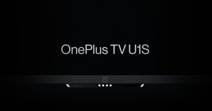 OnePlus TV U1S Series With 4K Resolution, Google Assistant Support & Camera Has Been Launched Officially