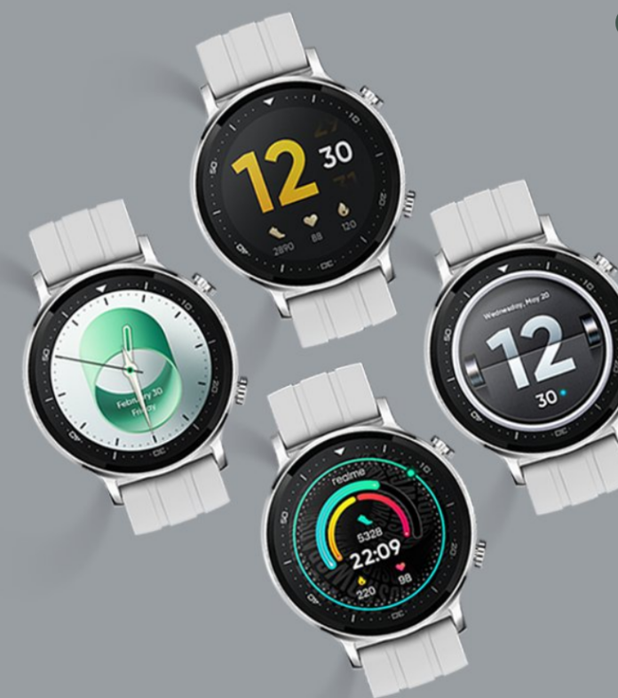 Realme Officially Launches Watch S In Silver Colour Variant In India