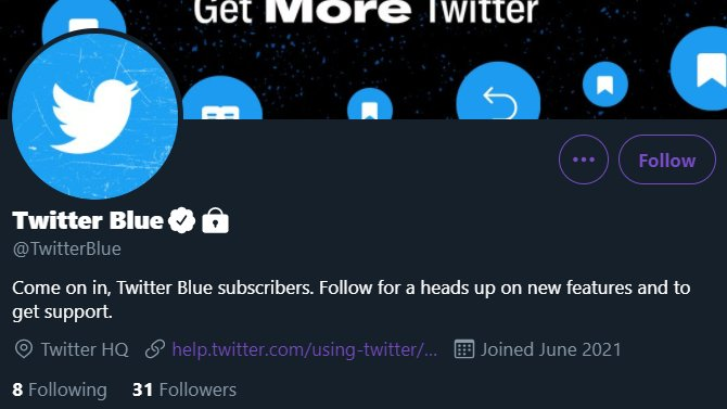 About Twitter Blue Subscription Service 2021