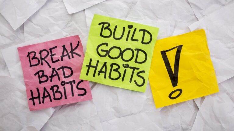 5 Life Changing Habits that changed my life!